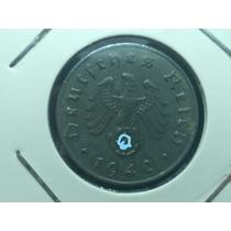 Antiga E Rara Moeda Alemanha Reich 10 Pfennig Letra J, Zinco