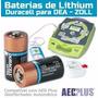 Bateria Lithium Cr123 Para Dea Desfibrilador