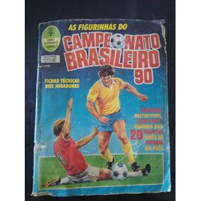 Álbum De Figurinhas Brasileiro 90