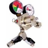 Regulador De Pressão Co2 Chopp 2 Vias / Cerveja Artesanal