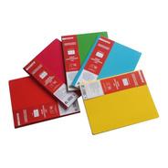 5 Cuadernos Profesional Cosido First Class 100 Hojas Surtido