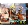 Lego Angry Bird Cerdo Barco Pirata 75825