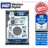 Disco Western Digital Blue 500gb Laptop