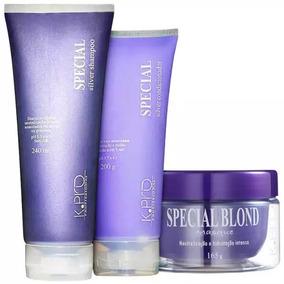 K.pro Special Silver Shampoo + Condicionador + Mascara