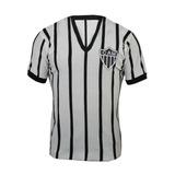 2dc4cc30bb Camisa Atlético Mineiro Retrô Listrada no Mercado Livre Brasil