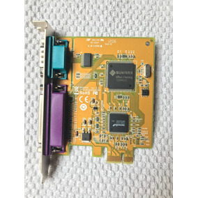 Placa Serial 232 E Paralela Lpt1 Pci Express