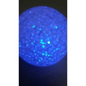 10 Centros De Mesa Led Esferas -velas-eventos X 12 Cm Diame