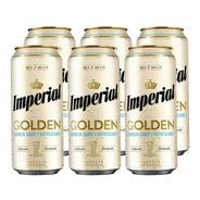 Imperial Golden . Cerveza . 473ml X 6 - Tomate Algo® -