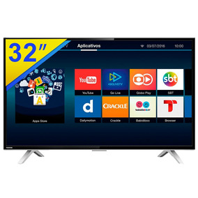 Smart Tv 32 Led Toshiba Conversor Digital E Wifi - 32l2600