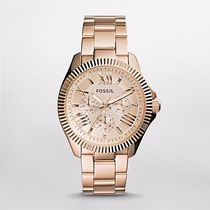 Reloj Fossil Cecile Multifunction Rose-gold Am4569 Watchito