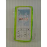 Capa Gel Tpu Verde Transparente Celular Nokia X3-02