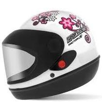 Capacete O Par Sport Moto Feminino E Masculino Integral