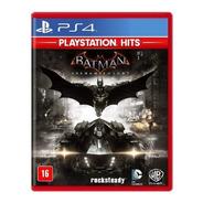 Batman Arkham Knight Standard Edition Físico Ps4 Wb C/ Nfe