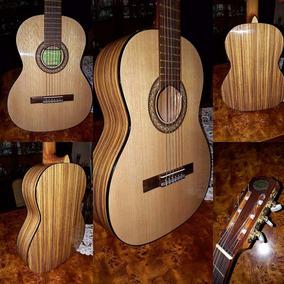Guitarra Criolla Clasica Española Breyer Br18 Zebrano Abeto