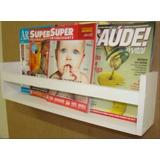 Revisteiro De Parede, Porta Condimentos, Prateleira P/ Livro