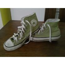 Botas Converse Corte Alto Originales Color Verde