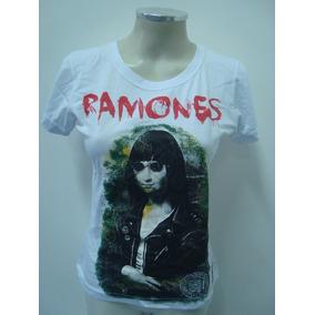 Baby Look Feminina - Ramones - Ramonalisa