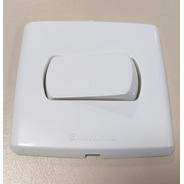 Conjunto Interruptor Simples / Paralelo Para Embutir Em Madeira, Moveis, Guarda-roupas, Paineis, Racks Enerbras