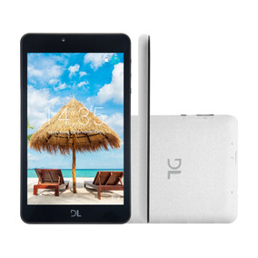 Tablet Dl C17 8gb Tela 7 Android Quad Core Câmera 1gb Ram