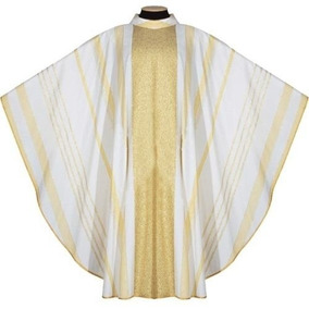 Capa De Asperges Ouro - Paramentos Católicos Frete Gratis