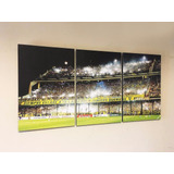Triptico Canchas Boca River Etc 7 Modelos Xl Total 93x44 Cm
