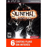 Juego Ps3 - Silent Hill Downpour 6 Ctas Sin Interes
