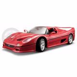 Miniatura Ferrari F 50 Vermelha Burago 1/18