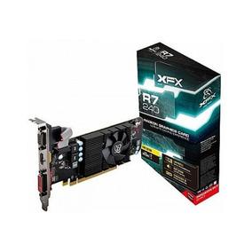 Placa De Video R7 240 2gb Ddr3 Hdmi Dvi Vga Core Radeon Xfx