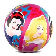 Bola Inflável Princesas Disney Infantil Praia E Piscina 40cm