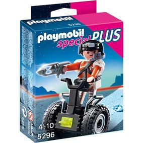 Playmobil 5296 Especial Plus Agente Especial Con Segway !!!!