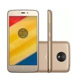 Motorola Celular Moto C Plus Xt1725 Gold 75-330
