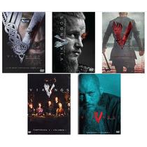 Vikingos Paquete De Temporadas 1 2 3 4 Completas En Dvd