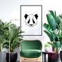 Cuadro de Panda