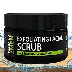 Exfoliating Facial Scrub For Men By Derma-nu - Unclogs Pores