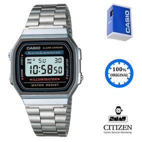 882ac2583bf8 Reloj Casio A168wa1 Plata Original - Relojes en Mercado Libre México