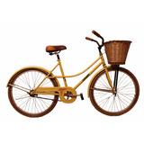Bicicleta De Paseo Rondinella 26 Dama