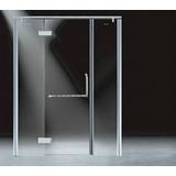 Cancel Abatible 1.60x2.00m Cristal Templado 10mm Puerta Baño