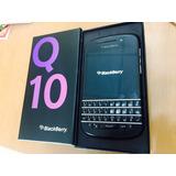 Blackberry Q10 Excelente !! Caja Y Accesorios! Libre!!