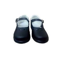 Guillermina Nena Infantil Calzado Base De Goma 18 Al26 Negro