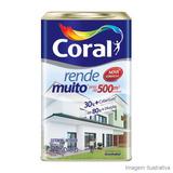 Tinta Coral Rende Muito Lata 18 Litros Cor Branca