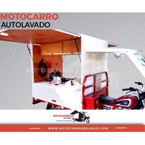 Motocarro Nuevo Autolavado Negocio Móvil Económico