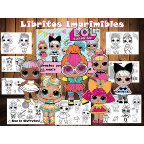 Munecas L O L Para Pintar Kits Personalizados En Mercado Libre