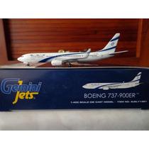 Avion Boeing 737-900er De El Al Israel Airlines 1:400 Gemini