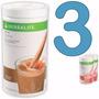 Kit Shake Herbalife 3 Potes - Todos Os Sabores - Promoção