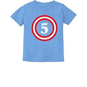 Capitán 5to Cumpleaños - Regalo Para El Niño De Cinco Años