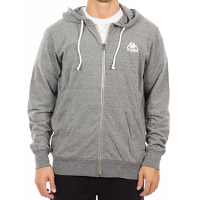 Campera Kappa Over Dyed Fz Hoody M Hombres