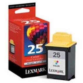 Cartucho Lexmark 25 Original 15m0125 Color