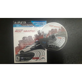 ¡ganga! Need For Speed Most Wanted Ps3