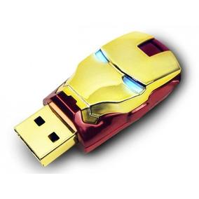 Pen Drive Personalizado Homem De Ferro 8gb