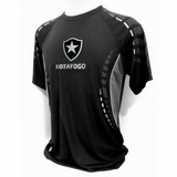 Camisa Botafogo Braziline Orion Raglan Adt Masculin Original